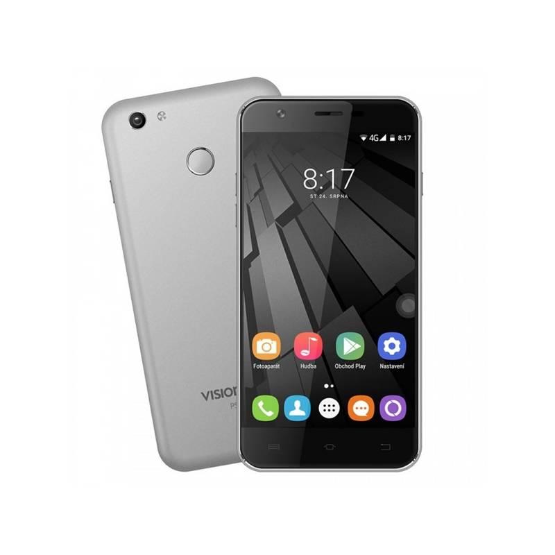 Mobilný telefón Umax VisionBook P55 LTE (UMM200P55) sivý Software F-Secure SAFE, 3 zařízení / 6 měsíců (zdarma)