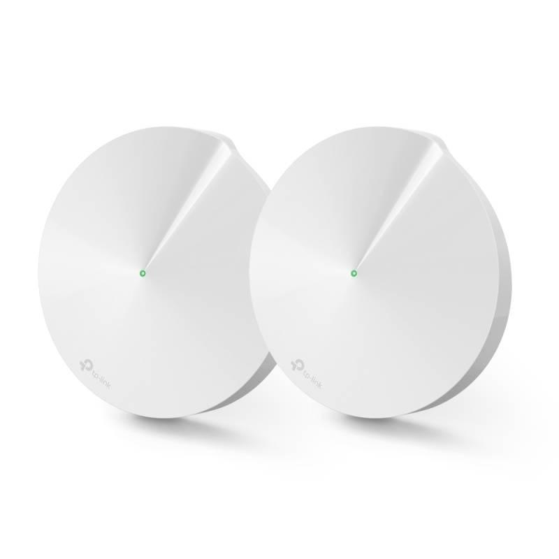 Prístupový bod (AP) TP-Link Deco M9 Plus AC2200 Hybrid Mesh WiFi system, 2 Pack (Deco M9 Plus(2-pack)) biely + Doprava zadarmo