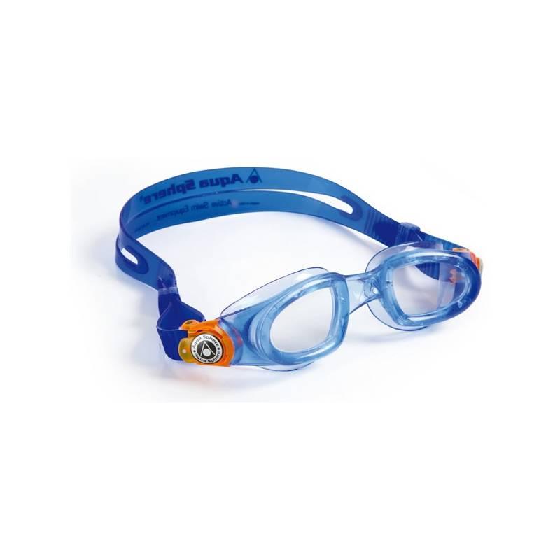 Okuliare plavecké detské Aqua Sphere Moby Kid modré