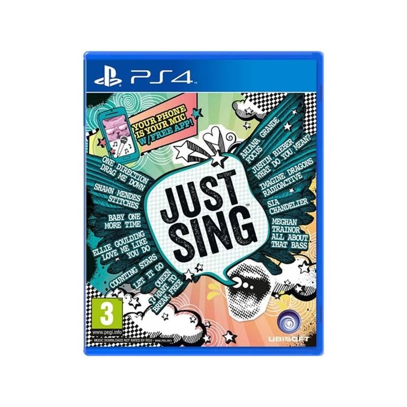 Hra Ubisoft PlayStation 4 Just Sing (3307215938317)