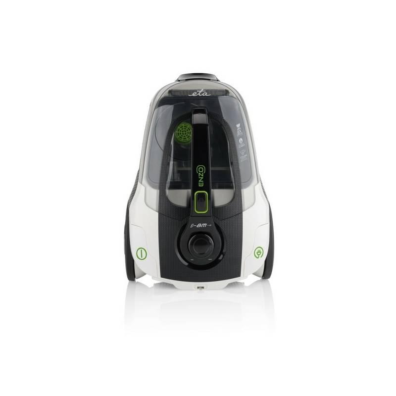 Vysávač podlahový ETA Enzo 1514 90000 čierny/biely