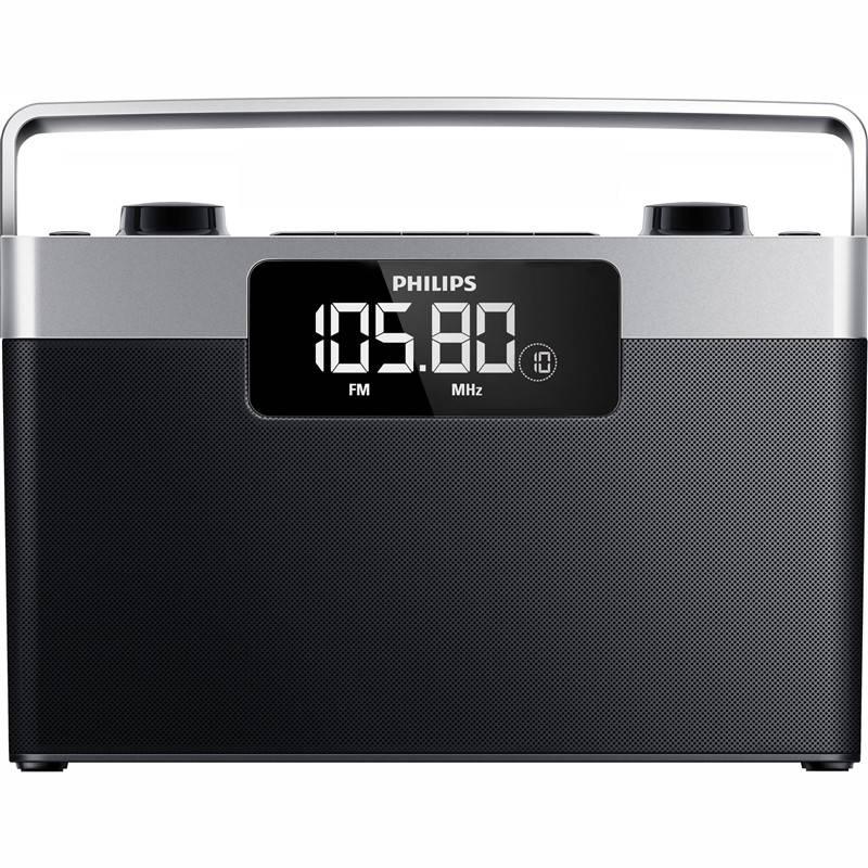 Rádioprijímač Philips AE2430 čierny/strieborný