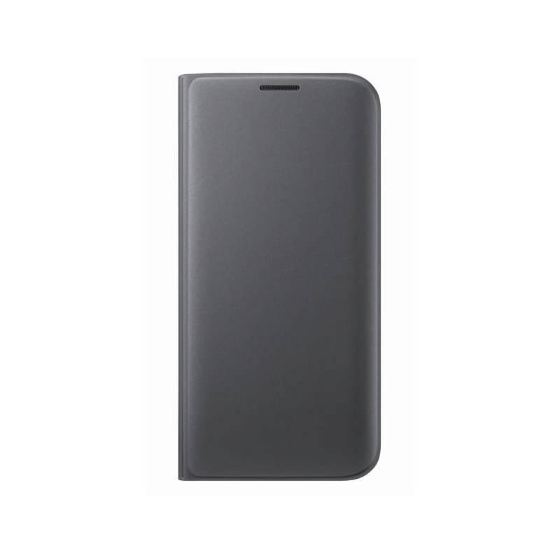 Puzdro na mobil flipové Samsung pro Galaxy S7 Edge (EF-WG935P) (EF-WG935PBEGWW) čierne