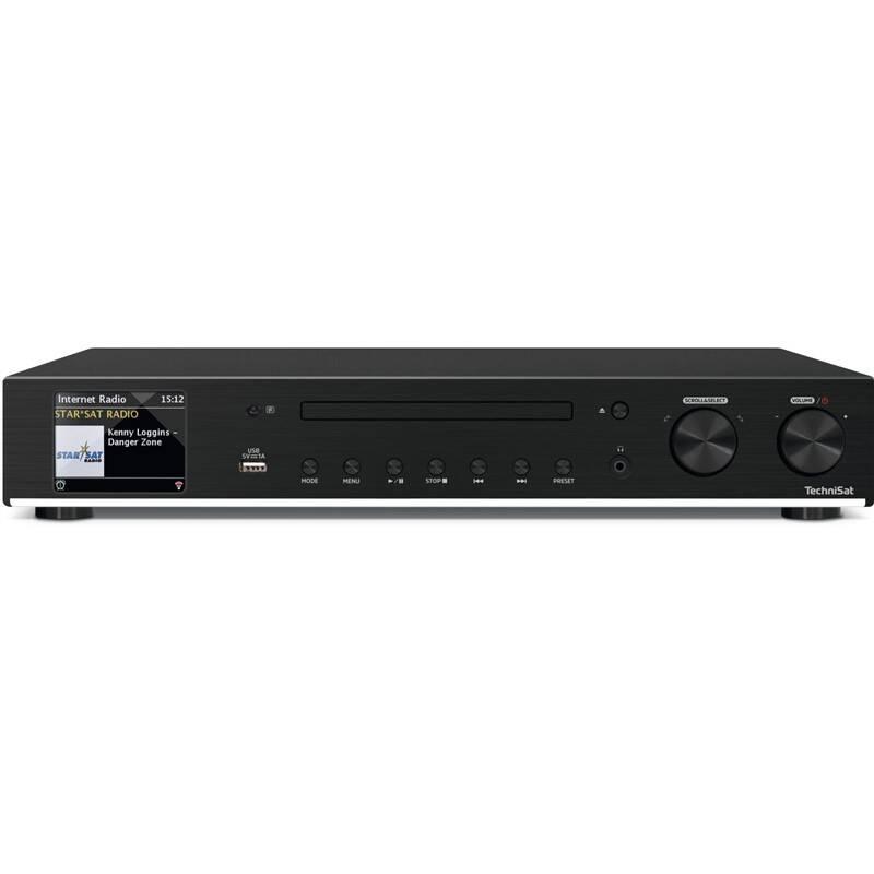 Internetový rádioprijímač Technisat DIGITRADIO 143 CD čierny