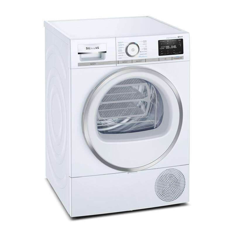 Sušička prádla Siemens iQ800 WT47XEH0CS bílá