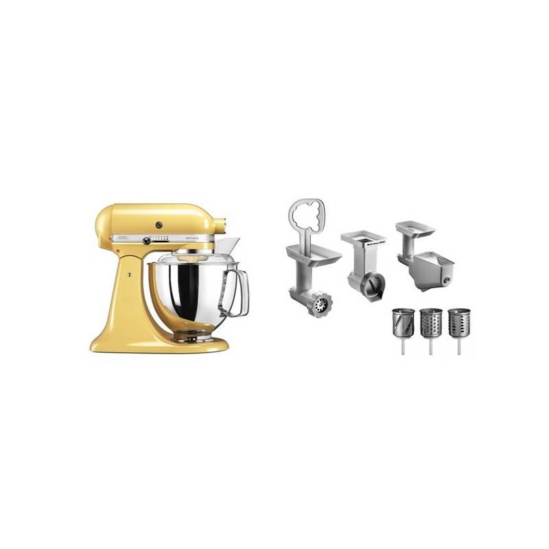 Set výrobkov KitchenAid 5KSM175PSEMY + FPPC + Doprava zadarmo