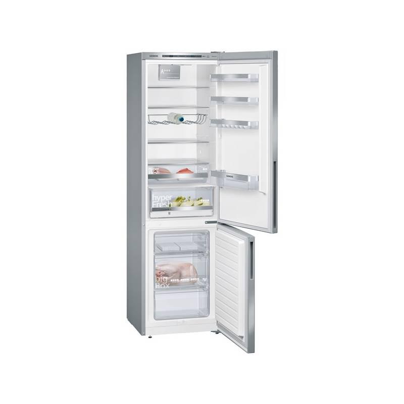 Kombinácia chladničky s mrazničkou Siemens KG39EVL4A Inoxlook + Doprava zadarmo