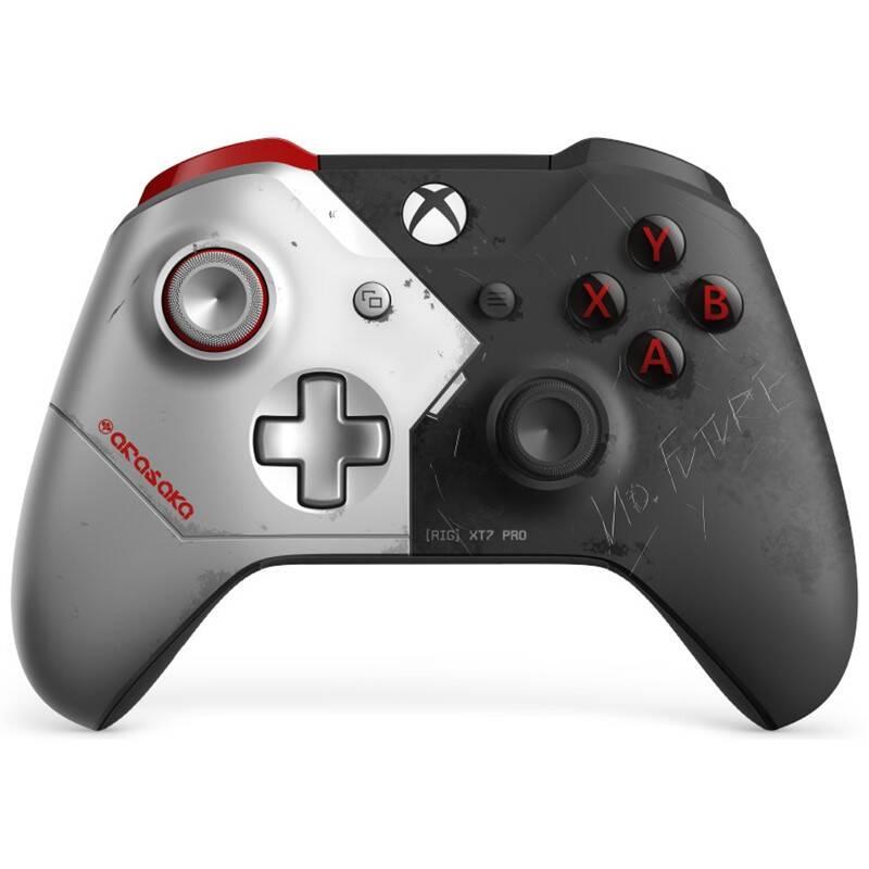 Gamepad Microsoft Xbox One Wireless - Cyberpunk 2077 Limited Edition (MSOP87546)