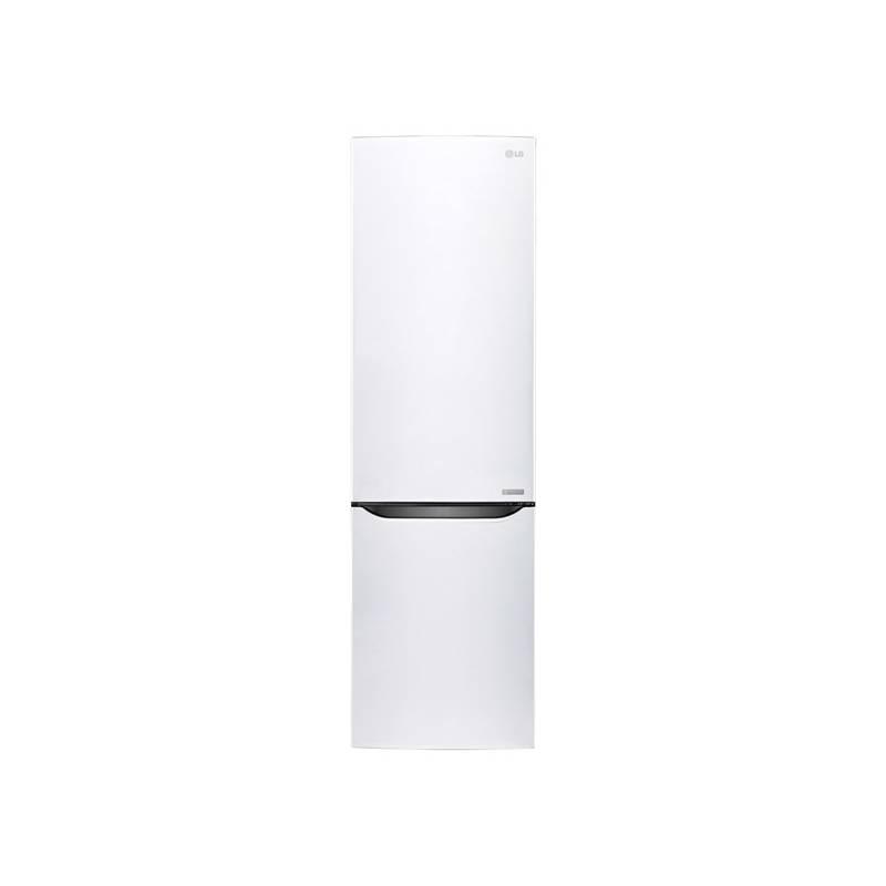 Kombinácia chladničky s mrazničkou LG GBB60SWGFS biela + Doprava zadarmo