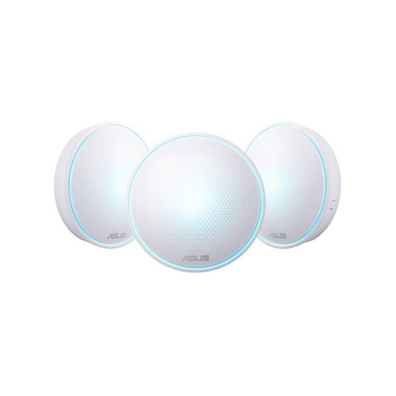 Kompletný Wi-Fi systém Asus Lyra MAP-AC2200 (90IG04C0-BN0B10) biely + Doprava zadarmo