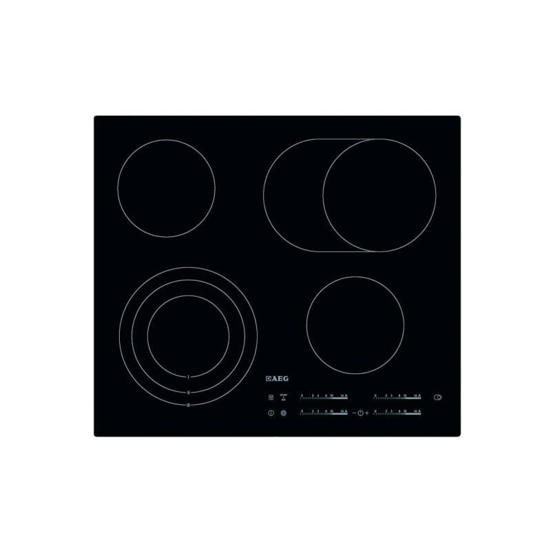 Sklokeramická varná doska AEG Mastery HK654070IB čierna/sklo + Doprava zadarmo