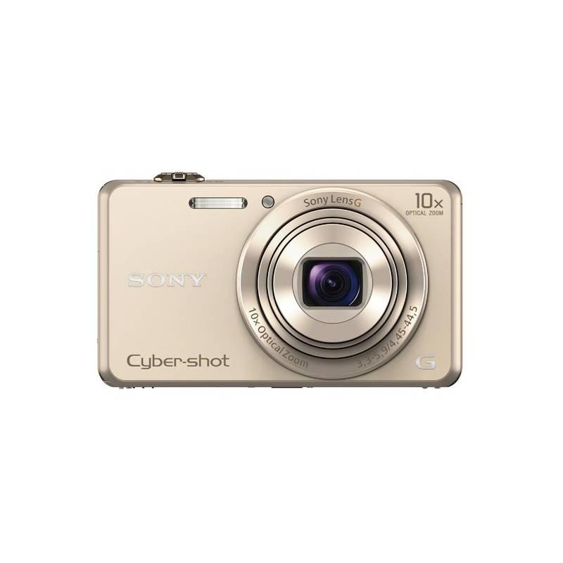 Digitálny fotoaparát Sony Cyber-shot DSC-WX220 zlatý