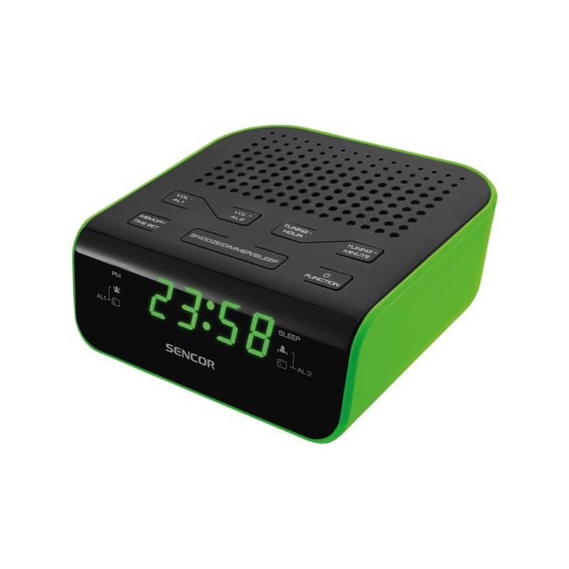 Rádiobudík Sencor SRC 136 GN čierny/zelený