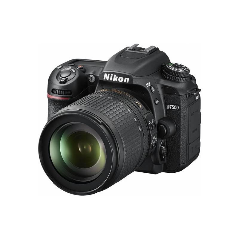 Digitální fotoaparát Nikon D7500 + 18-105 AF-S VR černý