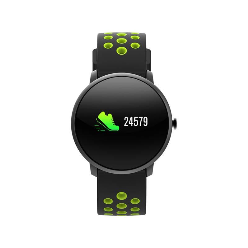Fitness náramok iGET FIT F4 (84000430) čierny