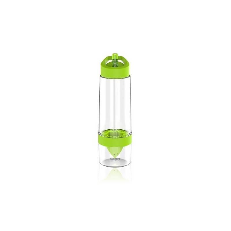 Flaška na pitie BANQUET Sqeezy 0,65 l zelená farba