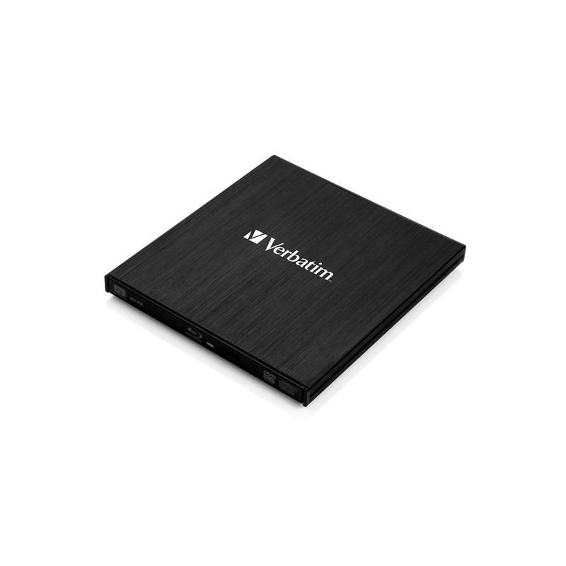 Externá Blu-ray napaľovačka Verbatim USB 3.0 (43890) čierna