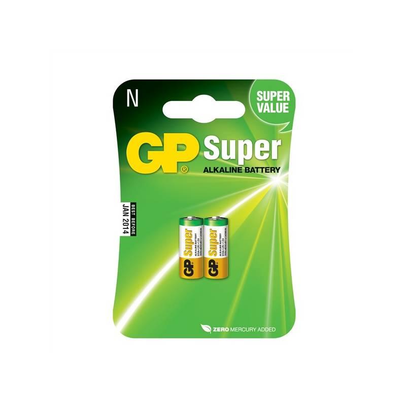 Batéria alkalická GP 910A, LR1, Super, blistr 2ks (GP 910A)