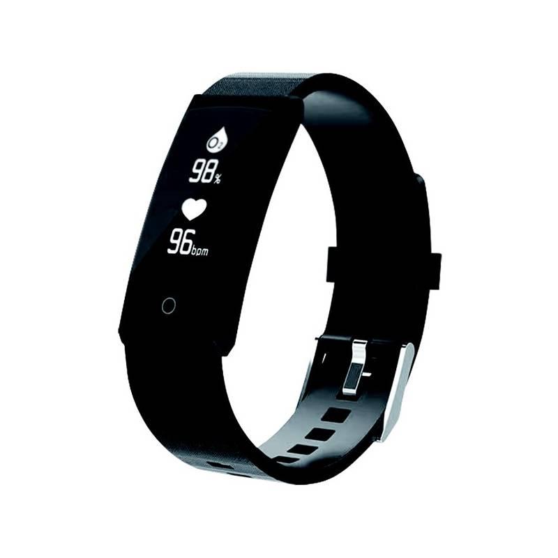 Fitness náramok Aligator EB02 (EB02BK) čierne