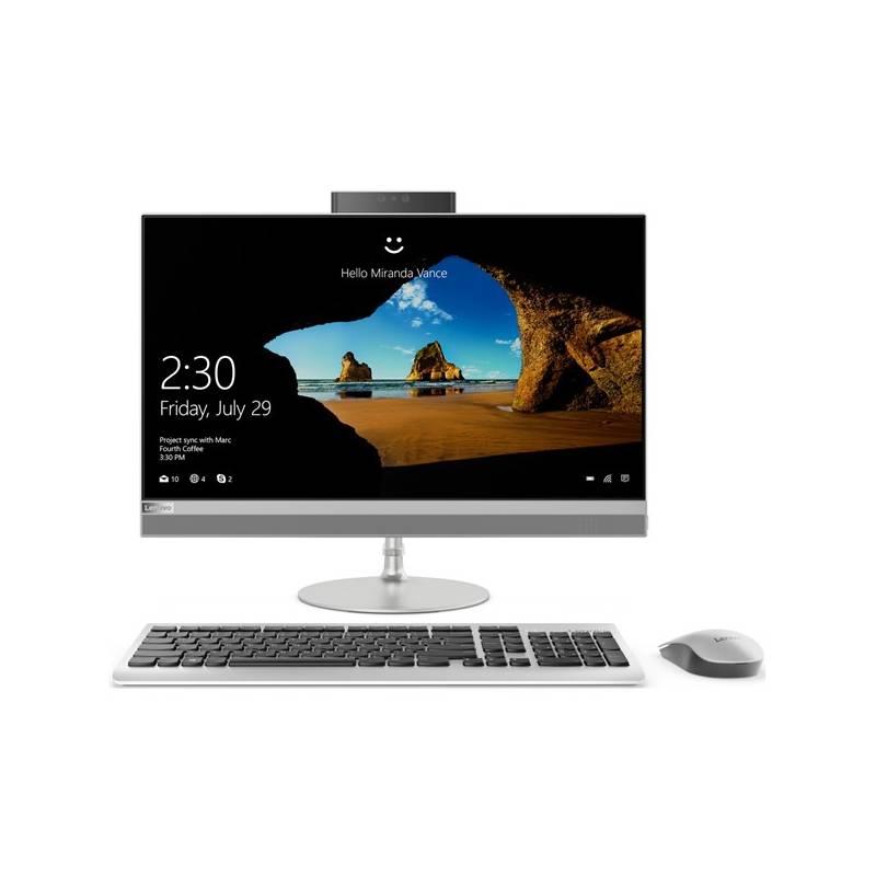 PC all in-one Lenovo IdeaCentre AIO 520-24ICB (F0DJ004XCK) strieborný + Doprava zadarmo