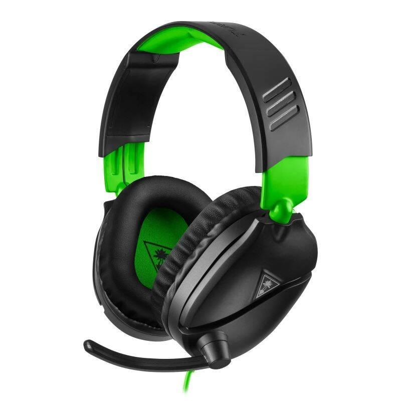 Headset Turtle Beach Recon 70X pro Xbox One, PS4, Nintendo (TBS-2555-02) čierny