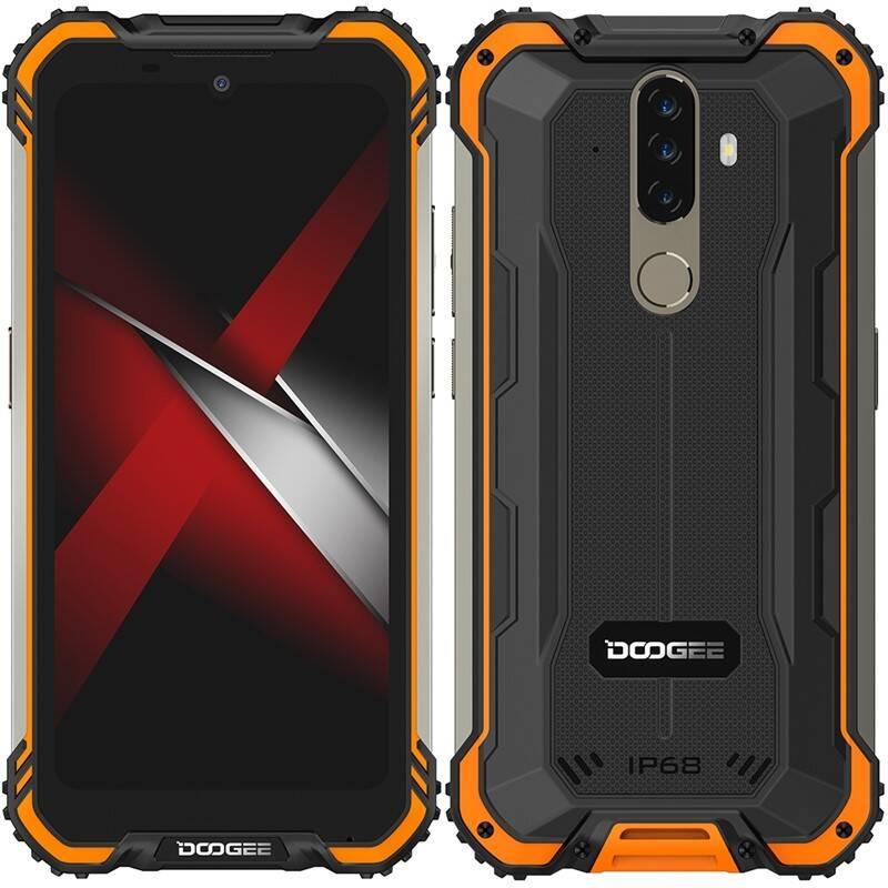 Mobilný telefón Doogee S58 PRO Dual SIM (DGE000570) oranžový