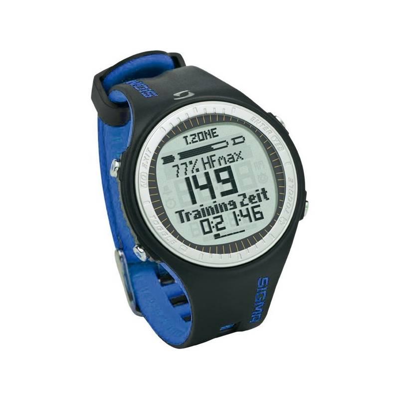 Sporttester Sigma PC 25.10 čierny/modrý + Doprava zadarmo