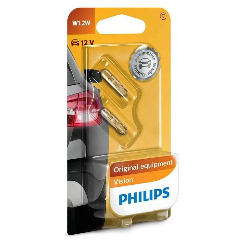 Autožiarovka Philips Vision W1,2W, 2ks (12516B2)