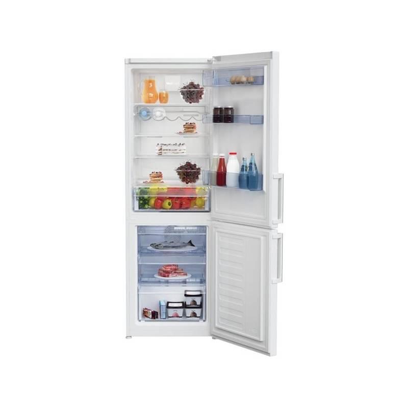 Kombinácia chladničky s mrazničkou Beko RCNA 365 E31W biela + Doprava zadarmo