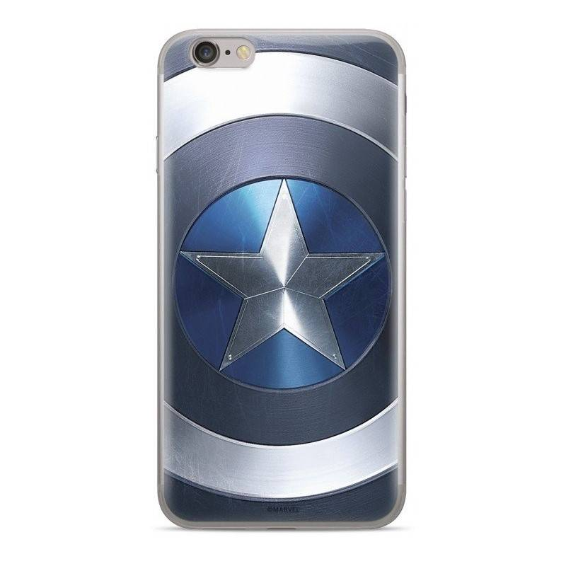 Kryt na mobil Marvel Captain America pro Huawei Y5 2018 (MPCCAPAM1503) modrý