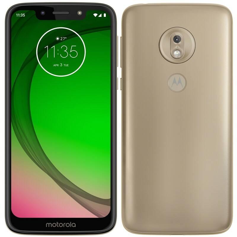 Mobilní telefon Motorola moto g7 play (PAE70012RO) zlatý
