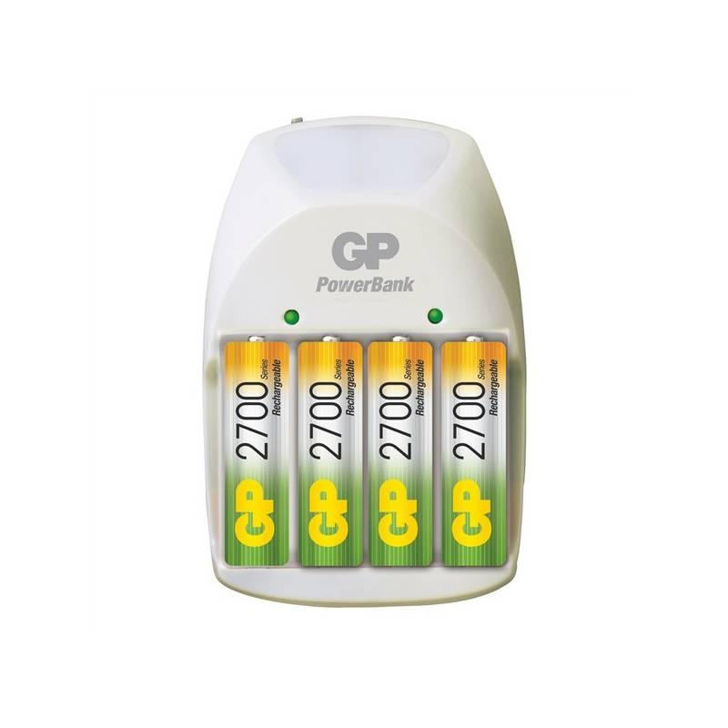 Nabíjačka GP PowerBank GP PB11 (GP PB11) biela