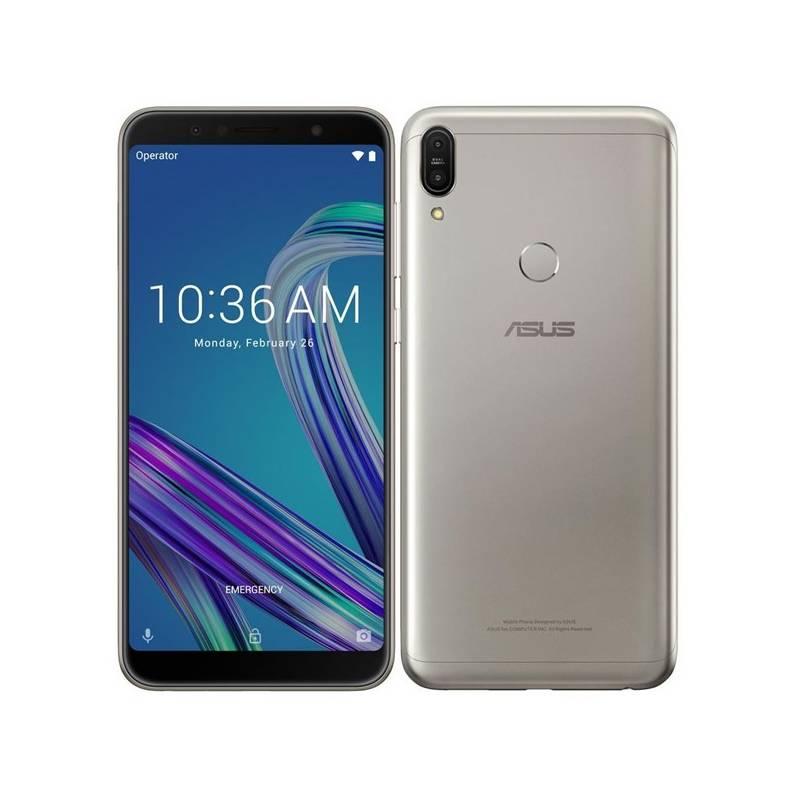 Mobilný telefón Asus Zenfone MAX Pro (ZB602KL-4H084EU) strieborný