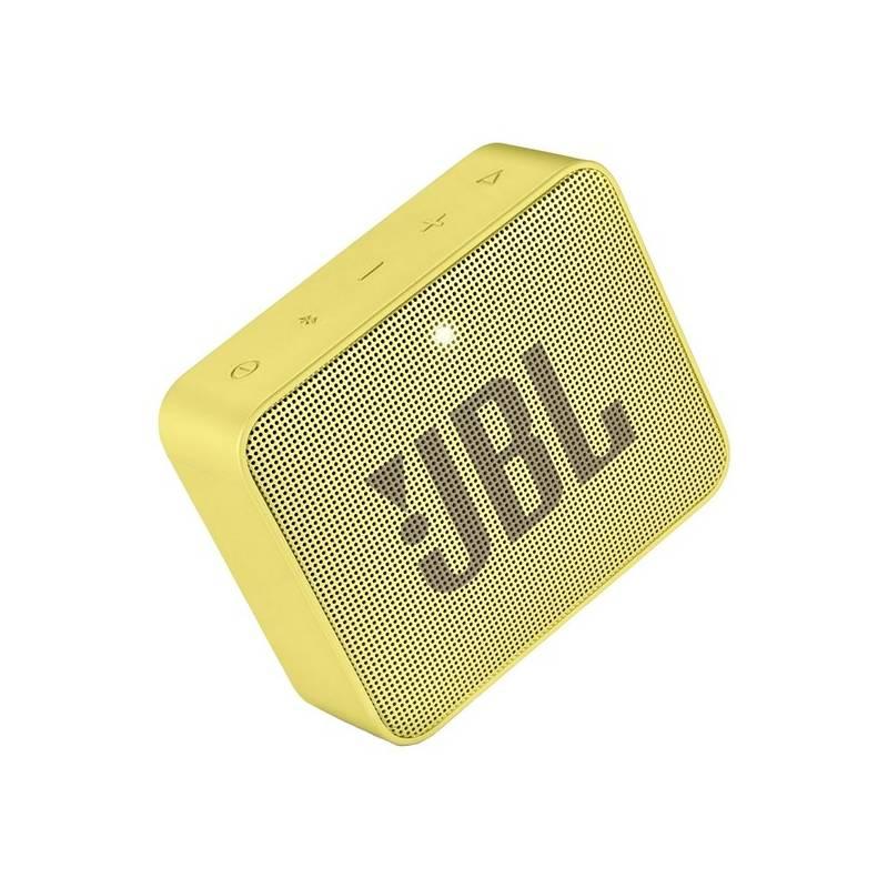 Prenosný reproduktor JBL GO 2 žltý