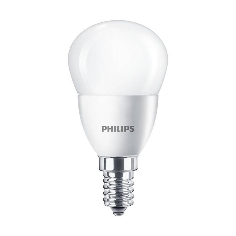 LED žiarovka Philips klasik, 4W, E14, teplá bílá (8719514309326)