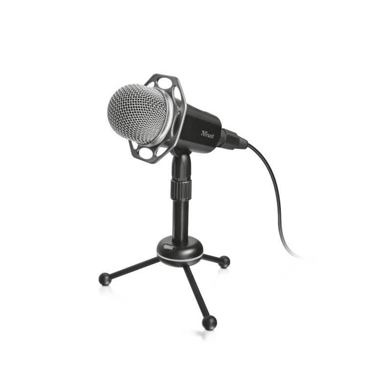 Mikrofón Trust Radi All-Round (21752) čierny