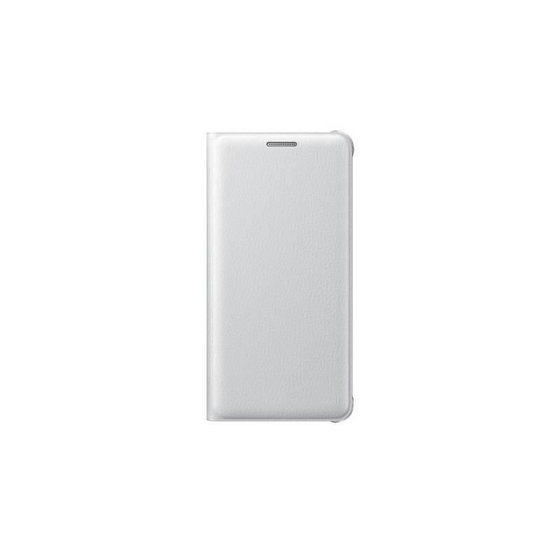 Púzdro na mobil flipové Samsung na Galaxy A5 2016 (EF-WA510PWEGWW) biele