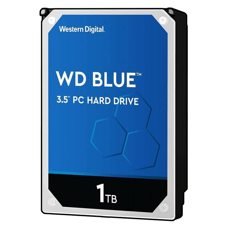 """Pevný disk 3,5"""" Western Digital Blue 1TB (WD10EZRZ)"""