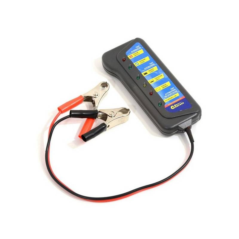 Tester autobatérie Compass a alternátoru 12 V