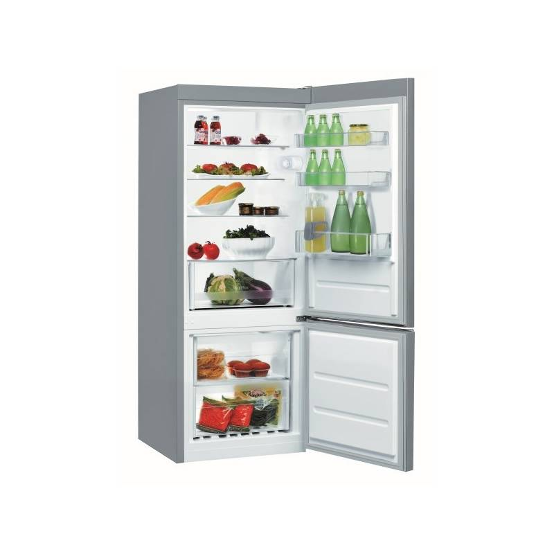 Kombinácia chladničky s mrazničkou Indesit LR6 S2 X nerez + Doprava zadarmo
