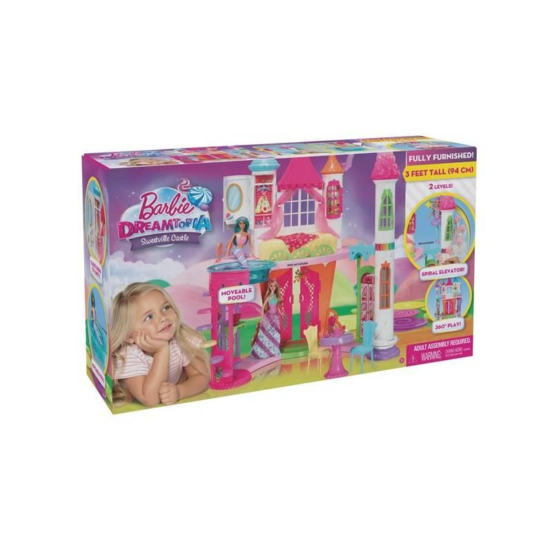 Barbie Mattel zámek ze sladkého království