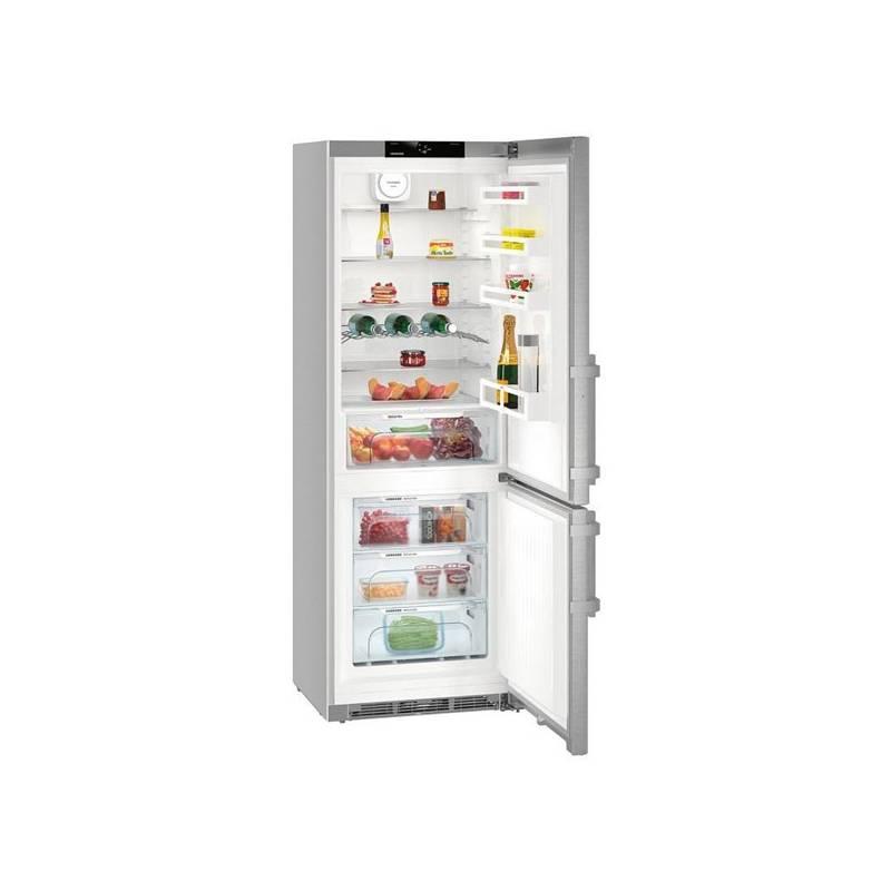 Kombinácia chladničky s mrazničkou Liebherr CNef 5715 nerez + Extra zľava 10 % | kód 10HOR2020 + Doprava zadarmo