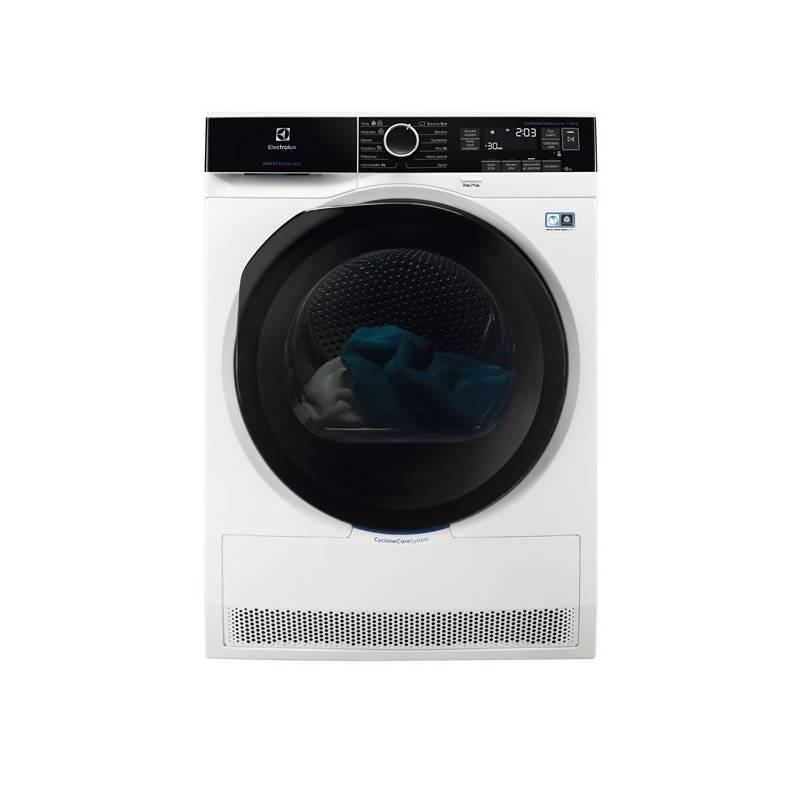 Sušička prádla Electrolux PerfectCare 800 EW8H258BC bílá + Electrolux 10 let záruka na inverto