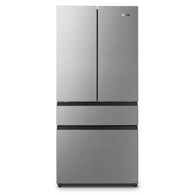 Americká lednice Gorenje NRM8181UX Inoxlook