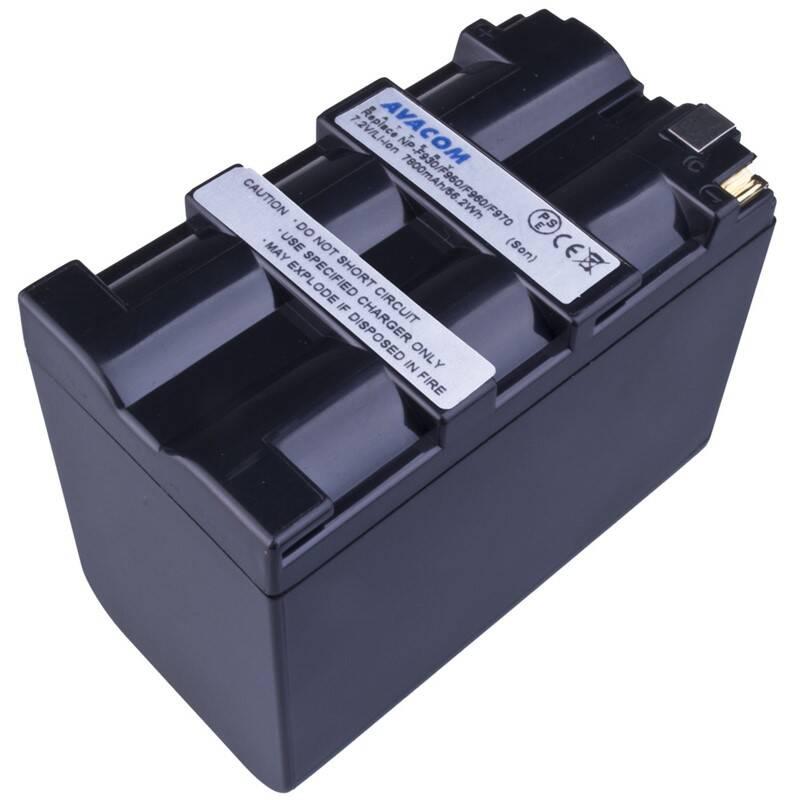 Batéria Avacom Sony NP-F970 Li-Ion 7.2V 7800mAh 56.2 Wh (VISO-970B-806) čierna + Doprava zadarmo