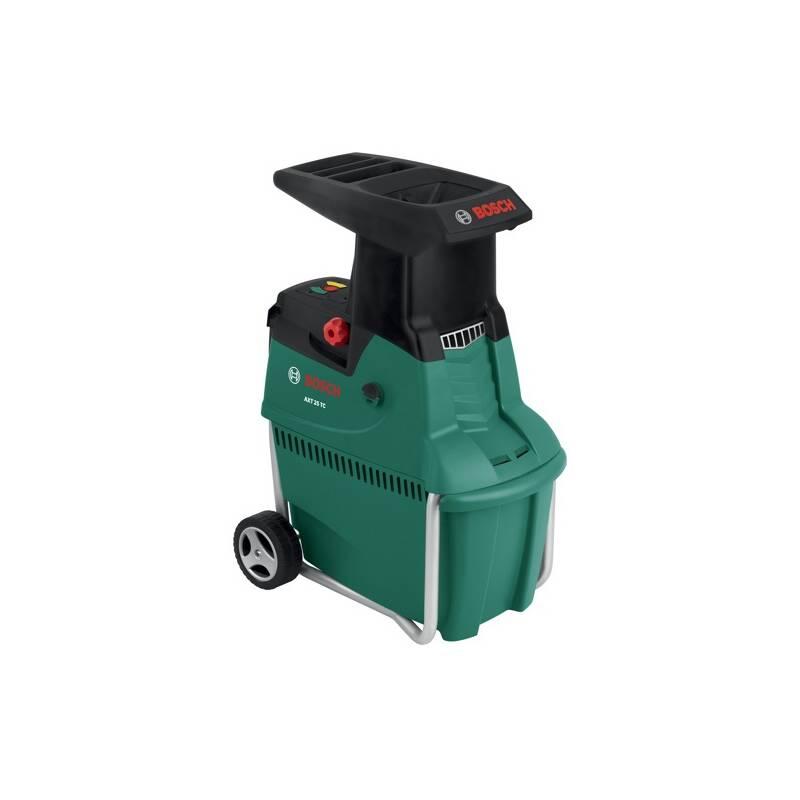 Drvič zahradného odpadu Bosch AXT 25 TC, zahradní čierny/zelený + Doprava zadarmo
