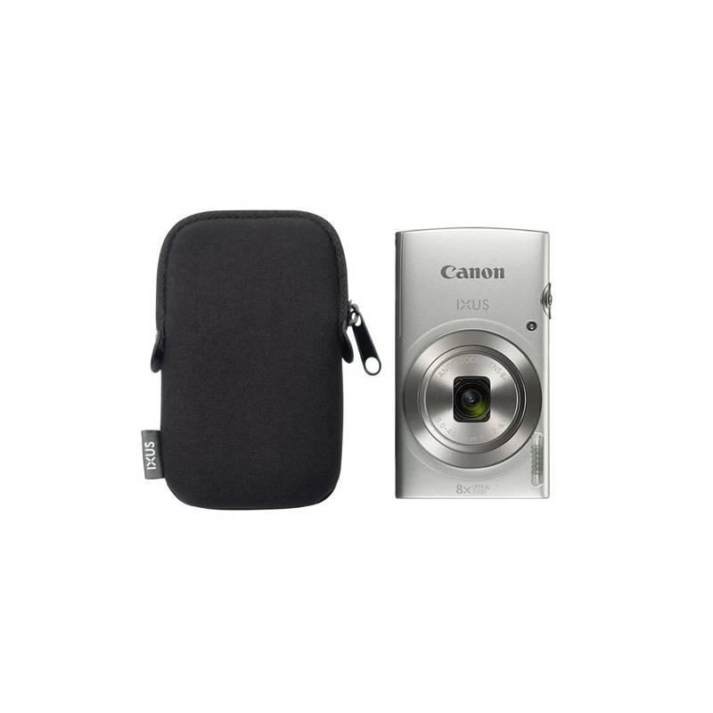 Digitálny fotoaparát Canon IXUS 185 + orig.pouzdro strieborný