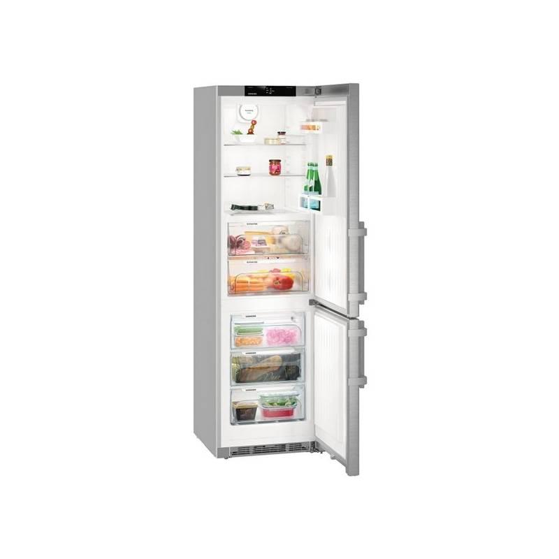 Kombinácia chladničky s mrazničkou Liebherr CBef 4805 nerez + Doprava zadarmo
