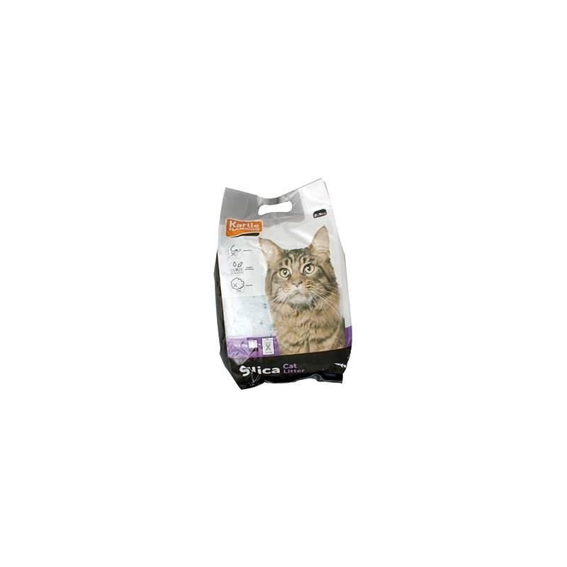 Podstielky Karlie pro kočky křemen 2,5 kg