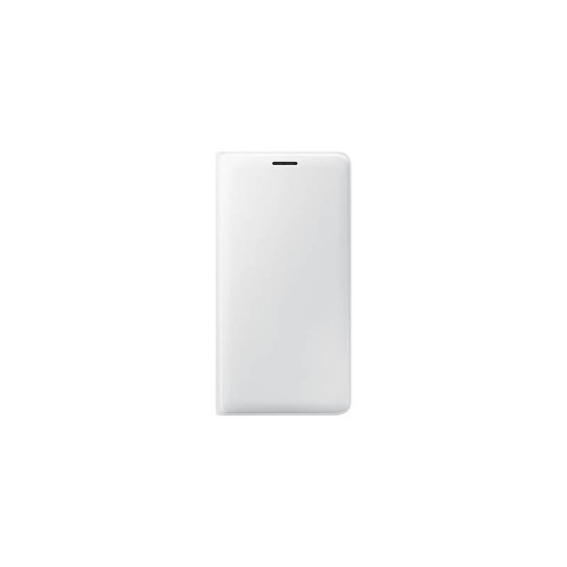 Puzdro na mobil flipové Samsung pro Galaxy J3 2016 (EF-WJ320P) (EF-WJ320PWEGWW) biele